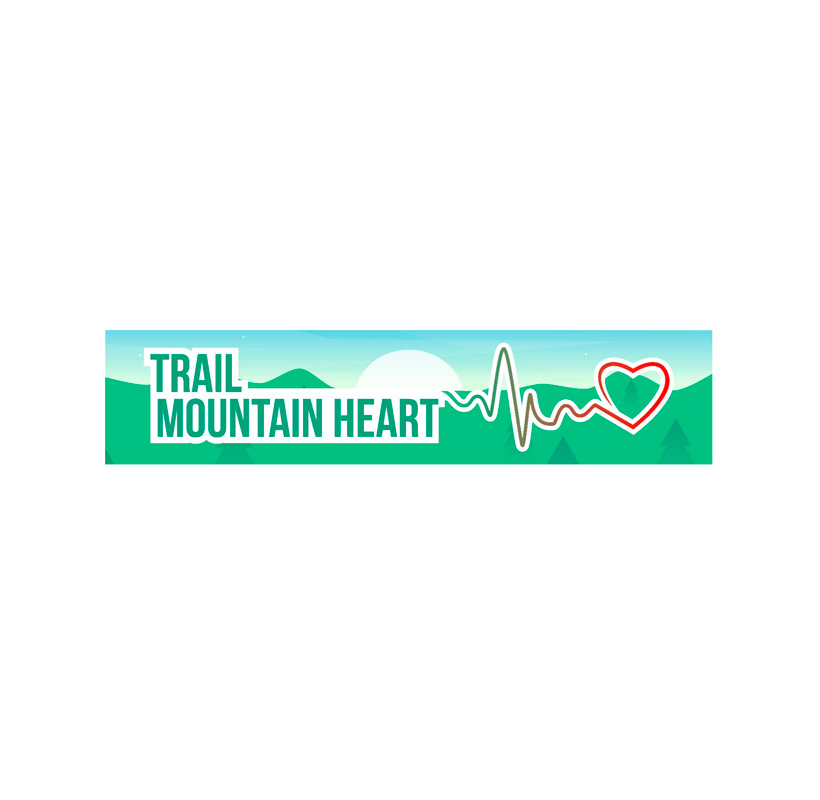Trail Mountain Heart